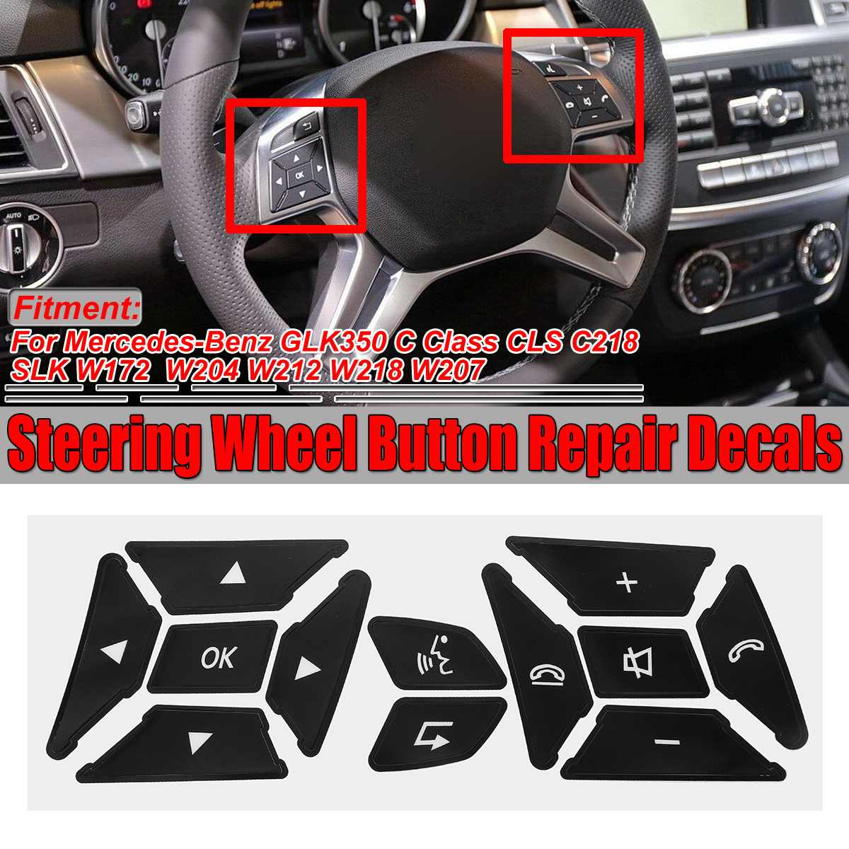 VALVE STEM CAPS SET Mercedes-Benz R172 SLK 200 250 350 CDI BlueEFFICIENCY 55 AMG