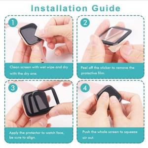 Image 5 - غطاء حماية منحني ثلاثي الأبعاد ناعم لـ Xiaomi Imilab KW66 ، حماية ساعة رياضية ذكية ، شاشة LCD