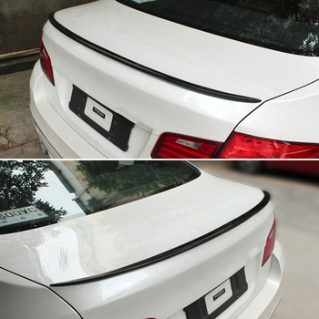 For BMW 5 Series F10 spoiler 2010--2017 year rear wing  M style Sport body kit Accessories real carbon fiber