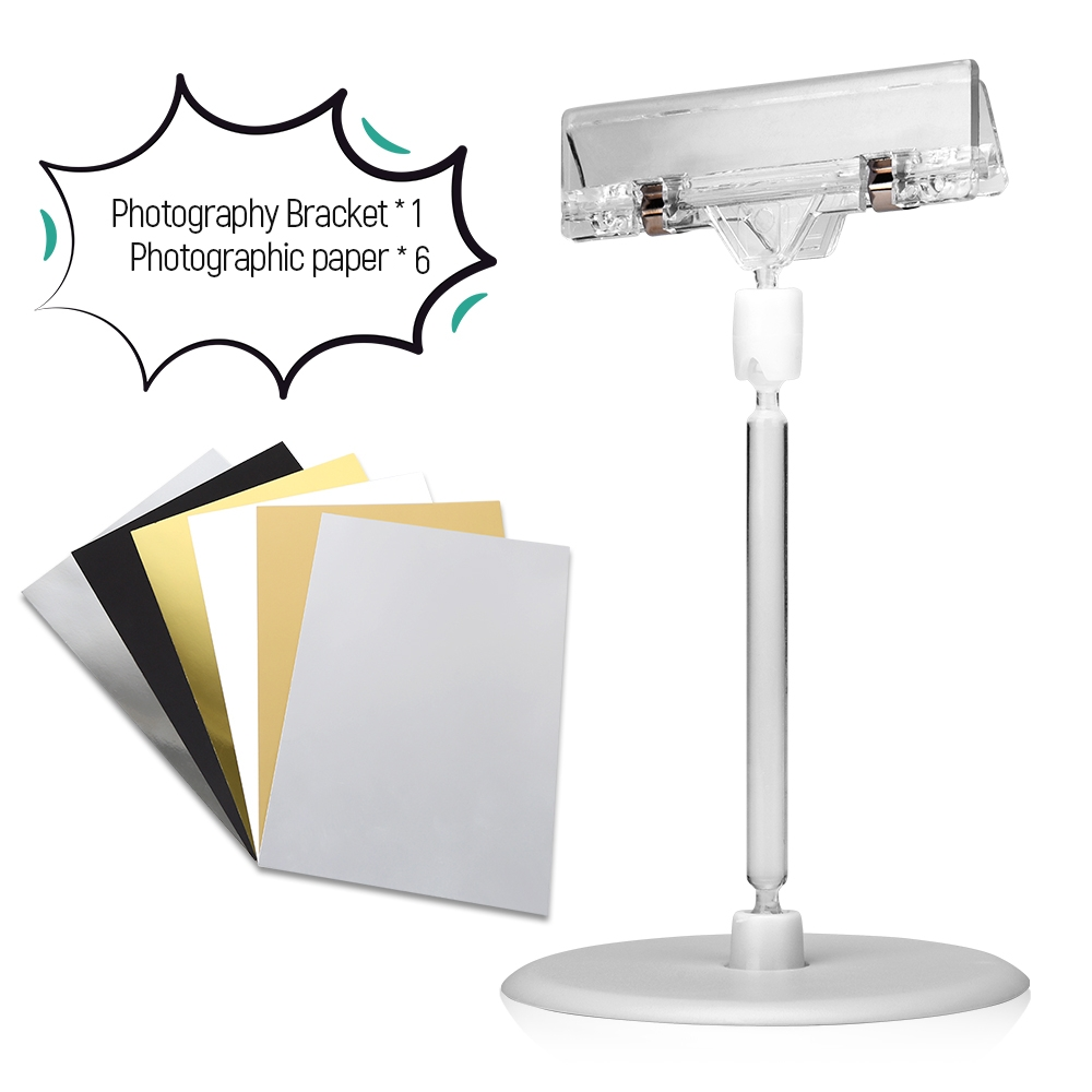 Photography Cardboard Small Bracket Background Support A4  Cardboard Light Reflector Paper Golden Silver Black For Photo Studio