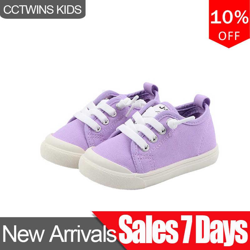 CCTWINS çocuk ayakkabı 2020 bahar bebek kız rahat ayakkabılar çocuk moda tuval eğitmenler erkek marka spor ayakkabılar FC2769