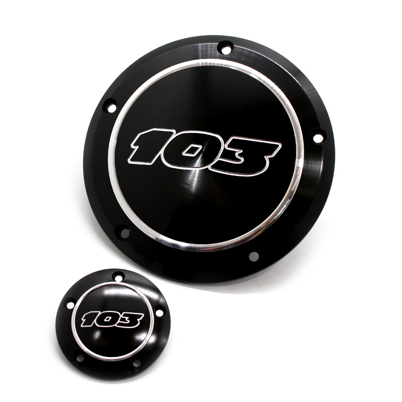 103 Derby Timing Engine Clutch Side Cover For Harley FLHX Street Glide Dyna Softail Touring Road King Electra  Glide 1999-2017