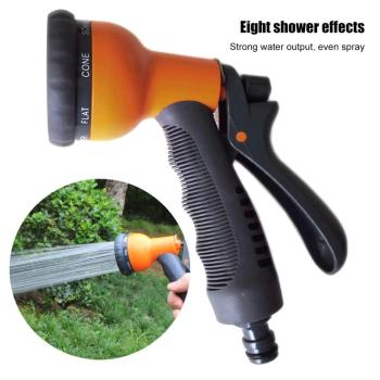 8 Standard Household Garden Water Gun Hose Nozzle Garden Water Guns Tool Home Car Wash Yard Sprayer Nozzle Sprinkle Tools