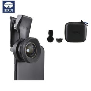 Image 2 - Sirui 18MM רחב זווית עדשת טלפון HD 4K מצלמה טלפון עדשת 60MM טלה עבור iPhone Xs מקסימום X 8 7 Huawei P20 פרו סמסונג S8 S9