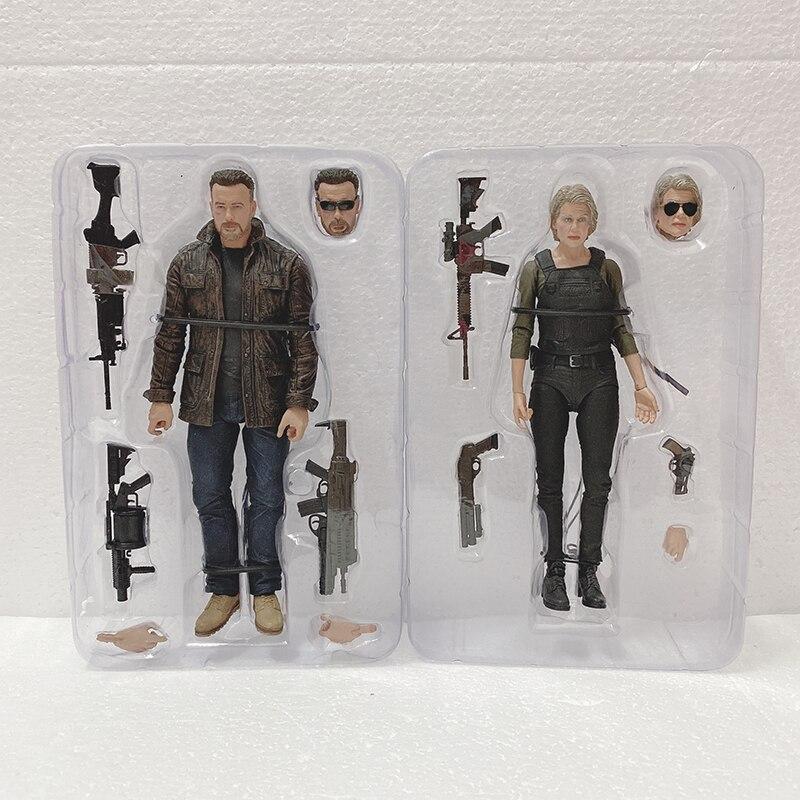 NECA Terminator T-800 Destino Oscuro Figura De Acción De La Action Figure Model Toy Doll Gift