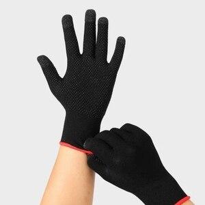 Image 3 - 2pcs יד כיסוי משחק בקר עבור PUBG זיעה משחקים אצבע אגודל שרוול כפפה