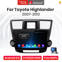 Junsun V1 Pro 4G CarPlay Android 10 4G+64G Car Radio Player For Toyota Highlander 2007