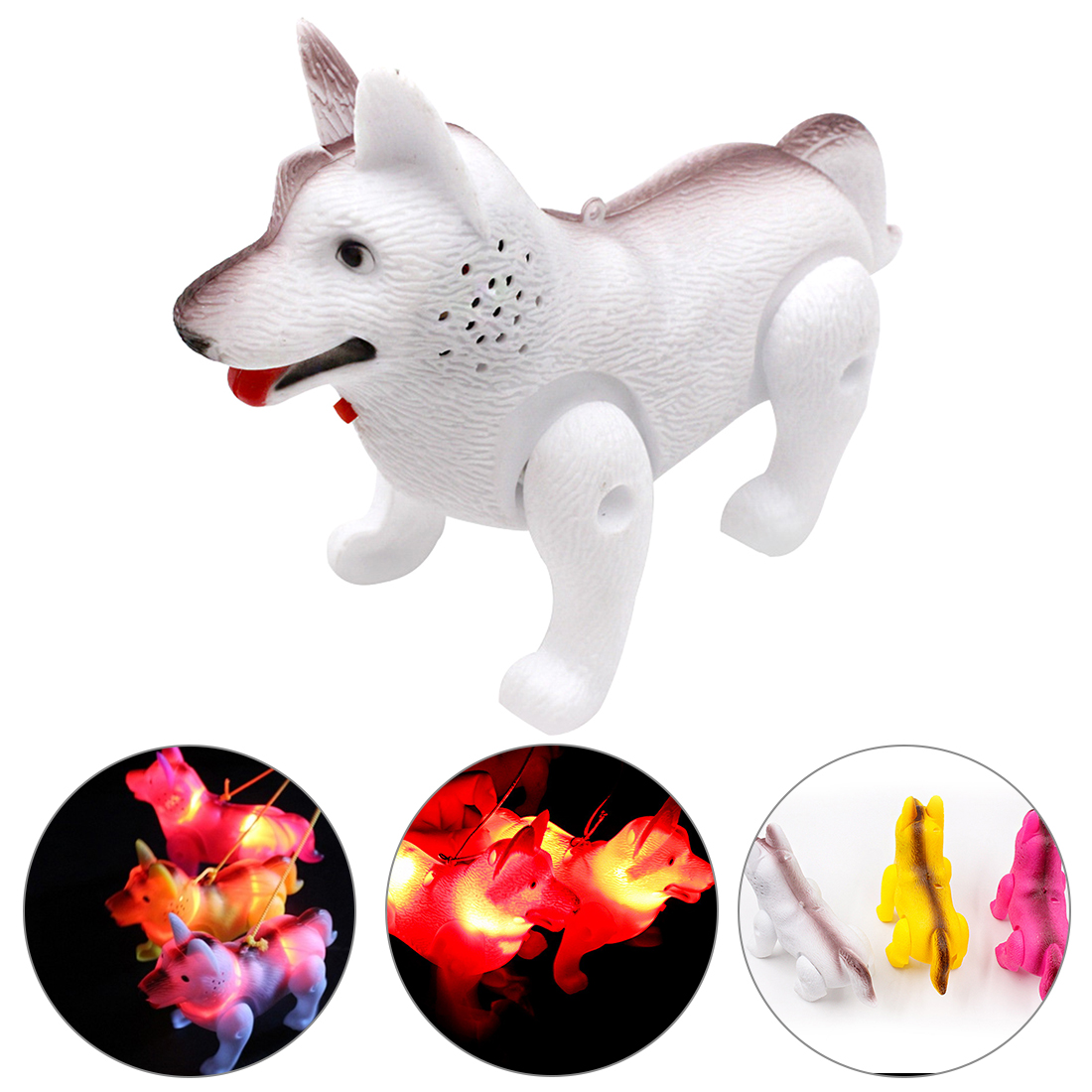 Electronic Pet Funny Robot Unicorn Children Toys LED Light Luminous Music Electric Walking Educational Toys For Kids Child Gift