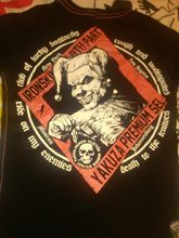 clothing,yakuza premium selection,yakuza premium,yps,clown shirt,bad languageColour Funny Printed