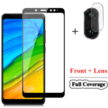 2-in-1 Tempered Glass for Xiaomi Redmi Note5 6 Note 7 Camera Lens Redmi6A Screen Protector 5 Film Redmi7A