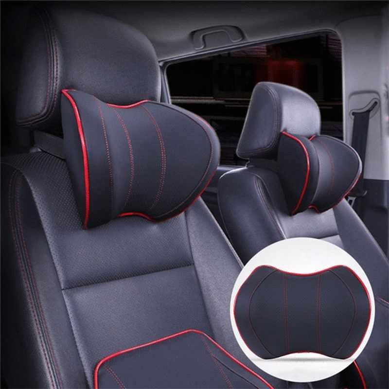 Подголовник для автомобильного сиденья, массажный подголовник для шеи, Автомобильная подушка, аксессуары для подголовника