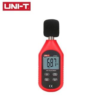 UNI-T UT353 Handheld cyfrowy LCD Mini poziom dźwięku miernik miernik poziomu hałasu decybeli monitorowania wskaźnik testery 30 ~ 130dB tanie i dobre opinie 31 5Hz-8000Hz ≤4 8V