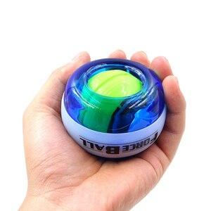 Мяч для укрепления запястья, гироскоп, мощный мяч, запястье тренажер, мощность, гироскоп, спортивный, ручной Спиннер со светодиодной скорост...