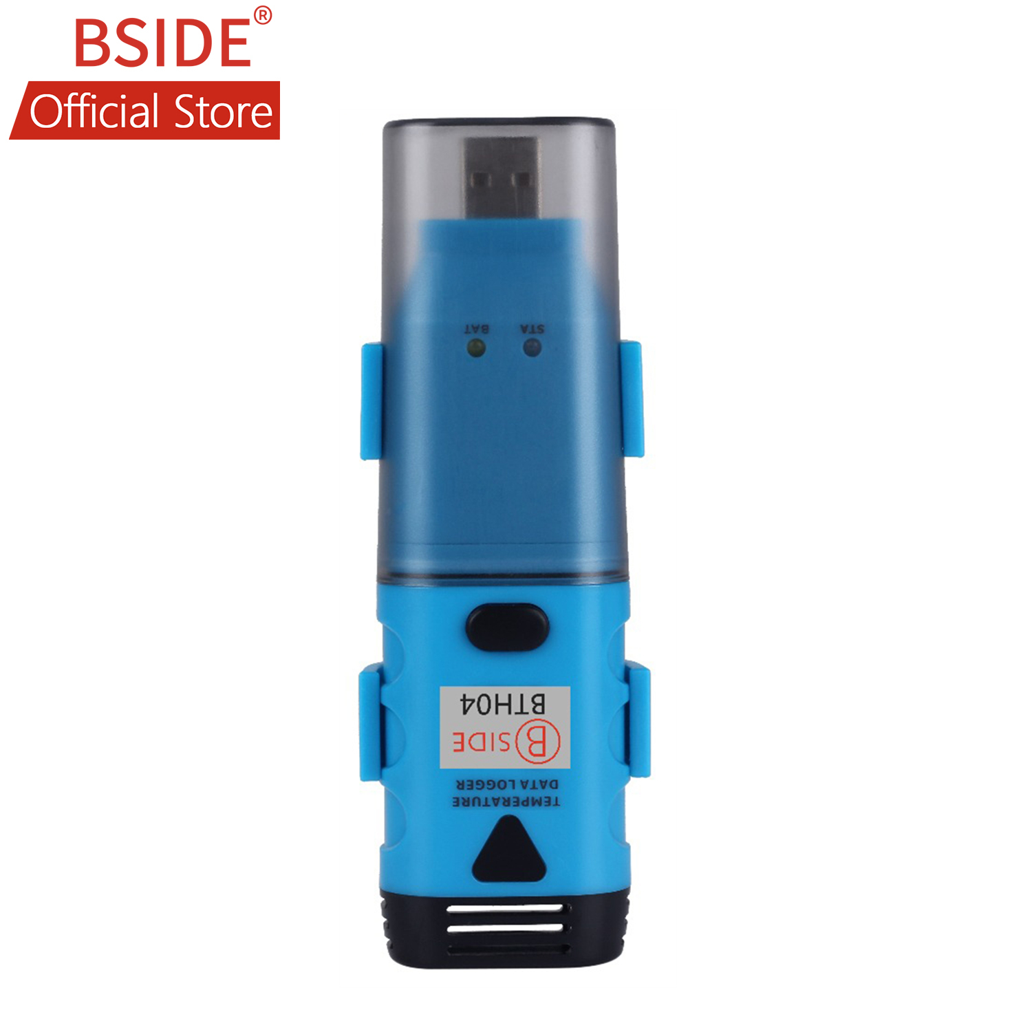 BSIDE BTH04 USB Single Channel Temperature Data Logger Temp Waterproof Recorder with 3 6V Lithium Battery