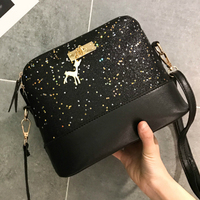 Luxus Handtaschen Frauen Taschen Leder Designer 2020 Frauen Umhängetasche Shoulder Messenger Taschen Shell Form Dame Mini Tasche Mit Hirsch Spielzeug