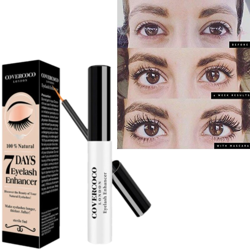 Eyelash Enhancer Eyelashes, Eyebrows, Hairline Fast Oil Growth Essence Natural Herbal 5ml Eyelash Growth Liquid