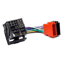 Rádio do carro ISO Adaptador feminino Cabo Interruptor para vw RCD200 RCD300 RCD310 RCD510 Golf Passat Tiguan