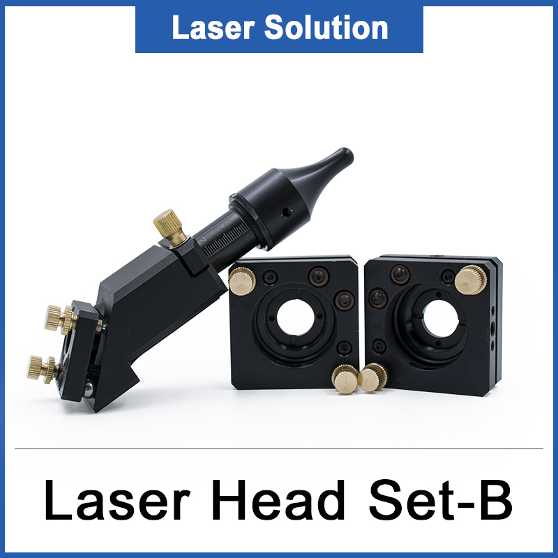 Co2 Laser Head Reflection Laser Mirror Mount Dia 20MM FL50.8 63.5MM Mirror 25MM Diameter For Laser Engraving Cutting Machine