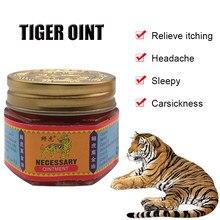 100% original red tiger bálsamo pomada tailândia analgésico pomada alívio da dor muscular pomada acalmar coceira 19.4g