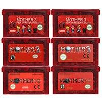 32 비트 비디오 게임 카트리지 콘솔 카드 Mother Series Nintendo GBA 용 미국/EU 버전