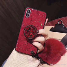 Phone Case For Iphone 11 Pro Max XI M R Xs Max XR 6 7 8 Plus Freeshipping Cheap Soft Hairball Silicone Fashion Phone Cover(China)