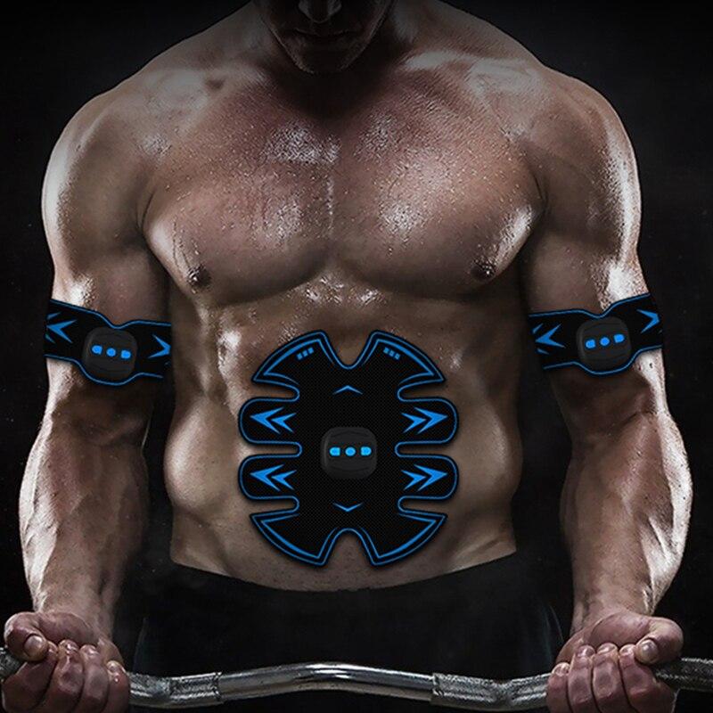 Ceinture Abdominale Electrostimulation Appareil Electrostimulation Musculaire Multimode Rechargeable Par USB Abdominal//Bras Muscle Stimulateur /Électro-Stimulation Muscle Trainer Ceinture Abdominale