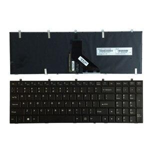 100% New Keyboard FOR Clevo CLEOVO W370ET W350ET W350 W370 W655 W670 US laptop keyboard Backlit(China)