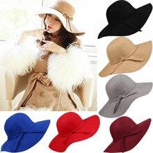 Для женщин Винтаж поступление широкая шляпа соломенные вечерние уличная мода, вечеринки Fe лук Кепки