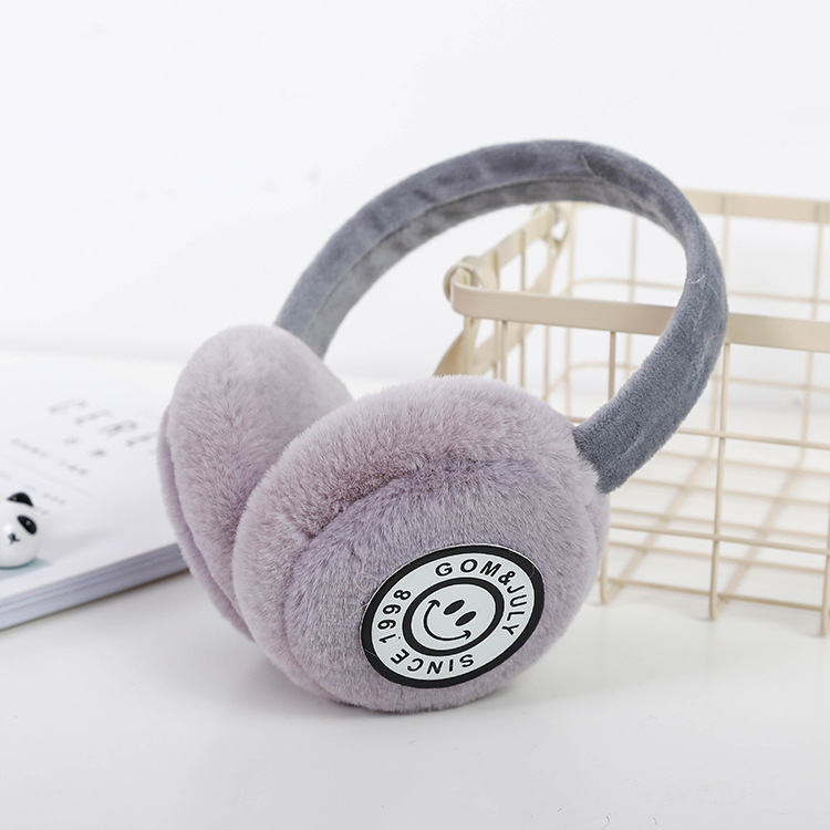 Autumn And Winter Children's Priting  Earmuffs Boys And Girls Headphones Warm And Comfortable Ski Earmuffs Fashion Earmuffs