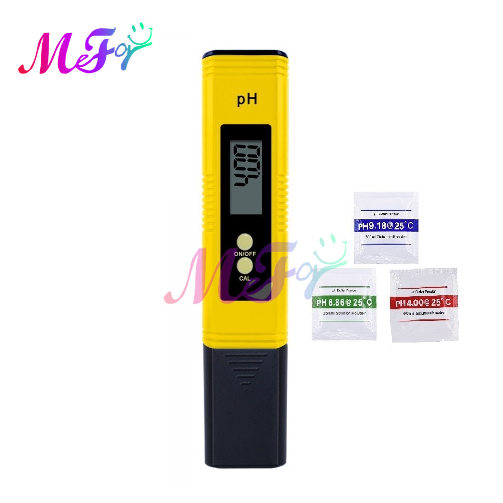 Digital LCD PH Meter Pen 0.01 Accuracy Aquarium Pool Wine Urine Drinking Water Quality Monitor Tester Automatic Calibration