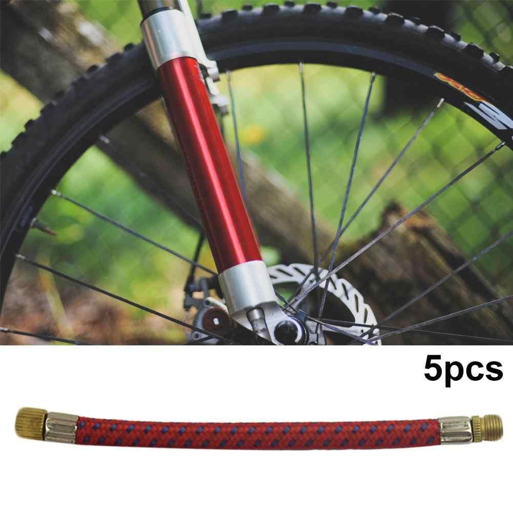 5 uds. Colchón inflable para bicicleta de coche de juguete de fútbol adaptador de bomba de aire tubo conector utilizado para neumáticos de bicicleta, la mayoría de bolas inflables
