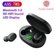 A9s наушники вкладыши tws с Беспроводной bluetooth v50 сенсорный