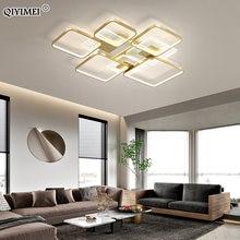 Современный светодиодный светильник с люстрами освещение в помещении