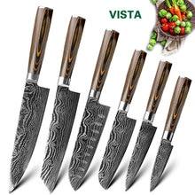 Набор кухонных ножей из нержавеющей стали 7CR17, нож шеф-повара в японском стиле, нож для резки хлеба и мяса, кухонные аксессуары, нож