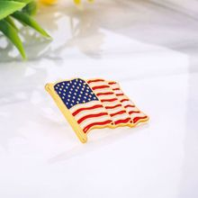 5Pcs Waving American Flag Enamel Lapel Pin The United State Brooch Patriotic Proudly Jewelry 5pcs waving american flag enamel lapel pin the united state brooch patriotic proudly jewelry