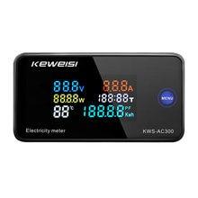 Kws ac300 Вольтметр Амперметр kws измеритель мощности и энергии