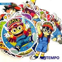 24pcs Kawaii Creative Cute Cartoon Arale Dr. Slump Stickers for Mobile Phone Laptop Luggage Skateboard Fixed Gear Decal