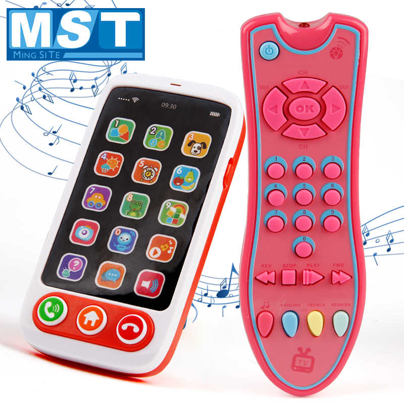 baby toys music mobiles phone tv remote control early learning educational SU