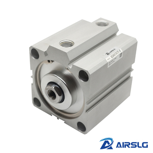 AIRTAC Type air pneumatic cylinder SDA32x50 double acting compact cylinder SDA32 Bore32 mm stroke 5-100mm female /male thread()