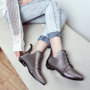 Image 5 - FEDONAS Quality Genuine Leather Cross Tied Chelsea Boots Party Dancing Shoes Woman 2020 Autumn Winter Warm Women Ankle Boots