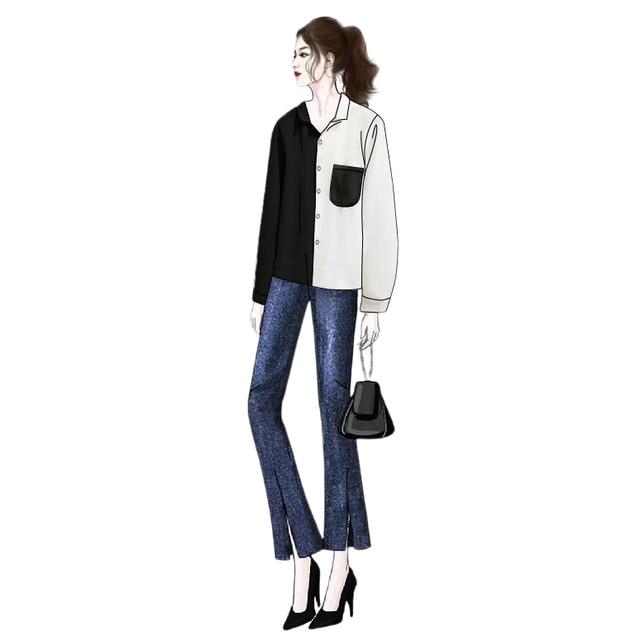 Casual Long-Sleeve Blouse  4