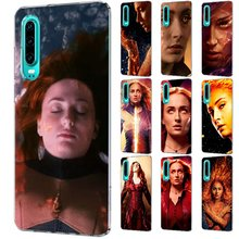 Mobile Phone Case For P Smart Z Plus P30 P20 P10 P9 P8 Lite Pro Hard Cover Marvel X-Men Apocalypse Jean Grey-Summers Phoenix(China)