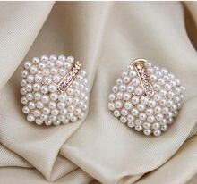 Новые модные ювелирные изделия серьги Стразы с кристаллами и