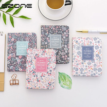EZONE A6 2019 -2020 Diary Sprial Calendar Notebook Monthly Plan Book Flower School Office Writing Stationery Supply