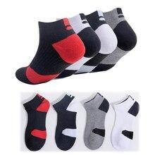 Summer Short Knitting Men's boat Socks Breathable Shockproof Cotton Men
