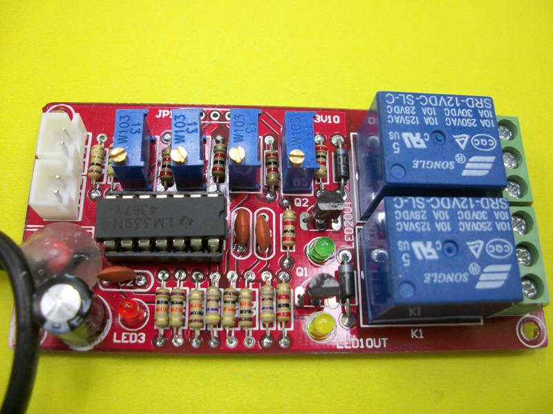 LM339 Double Voltage Limit 2 way Window Comparator Undervoltage and Overvoltage Protection Module Dual Output|  - title=
