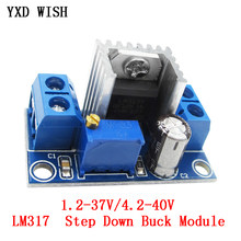LM317 DC DC régulateur de tension réglable alimentation linéaire LM317 DC-DC 4.2-40V-1.2-37V abaisseur Module de carte convertisseur