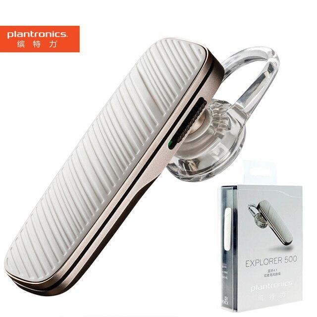 Fone de ouvido plantronics explorer 500, headset de negócios sem fio com bluetooth 4.1, microfone, som de alta qualidade para samsung xiaomi xiaomi compatível com xiaomi,