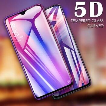 5D borde curvado cobertura completa Protector de pantalla de vidrio templado para OPPO RX17 R17 Pro R15x R15 Neo película protectora