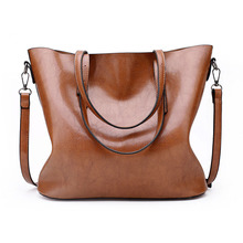 new fashion women handbag shoulder bags tote purse large leather bag china brown shopping for